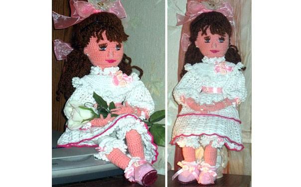 Кукла Виктория. Крючком. Описание