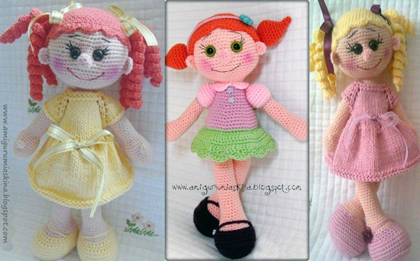 Куколка амигуруми. Описание вязания