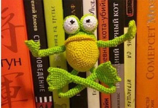 Лягушонок. Амигуруми. Описание