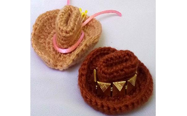 Руководство по вязанию крючком шляпы с полями для куклы