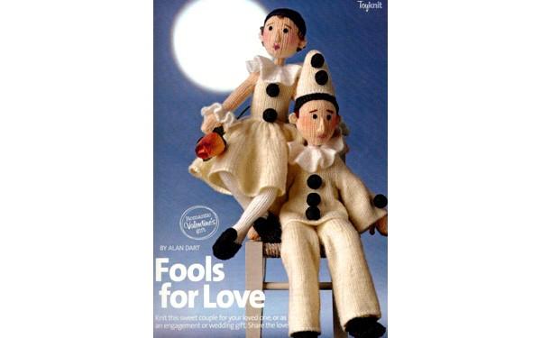 Вязаные куклы Пьеро и Пьеретта