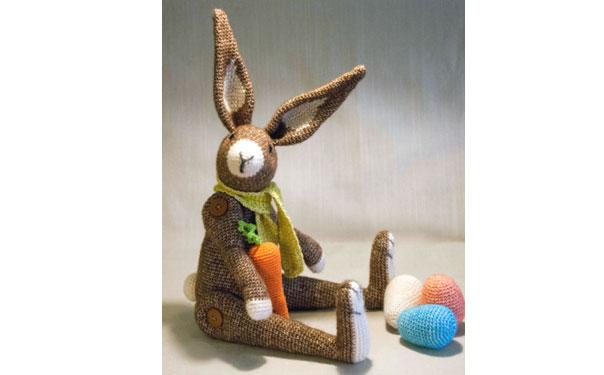 Вязаный кролик господин Хаас