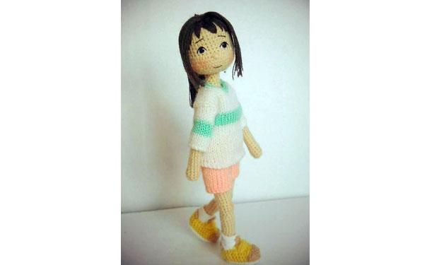 Вязаная кукла Тихиро. Крючком. Схема