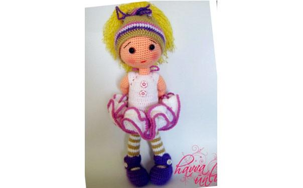 Кукла Ева. Схема вязания крючком