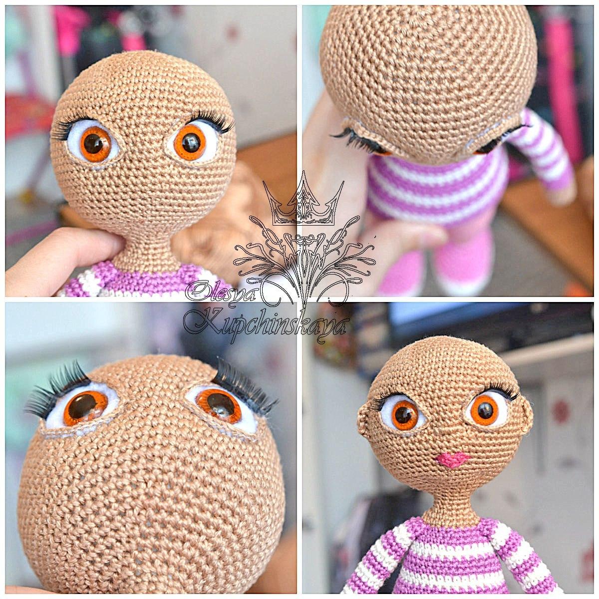Глазки к вязанным игрушками