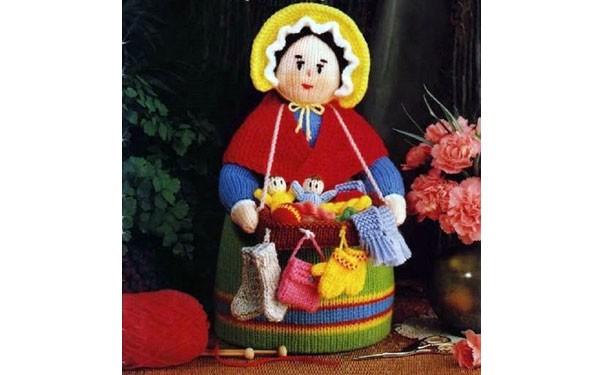 "Вязаная кукла ""Коробейница"". Описание"