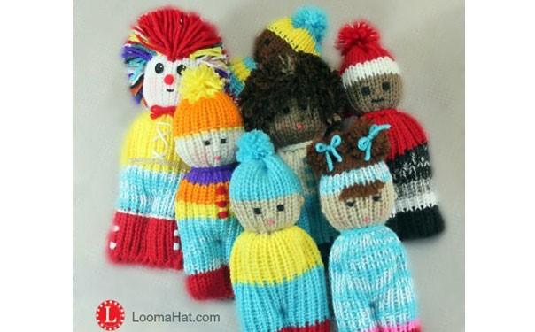 Вязаные маленькие куколки/ Мастер-класс