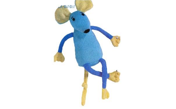 Вязаная мышка Фифи. Описание