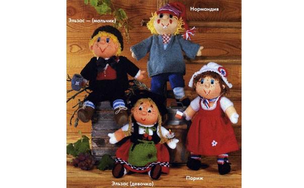 Вязаные куклы Эльзаса. Описание