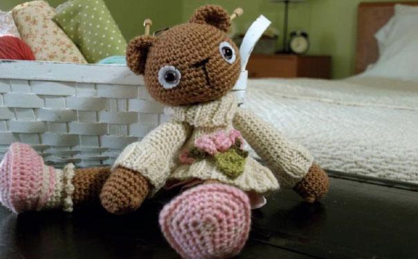 Медвежонок Элизабет. Схема вязания