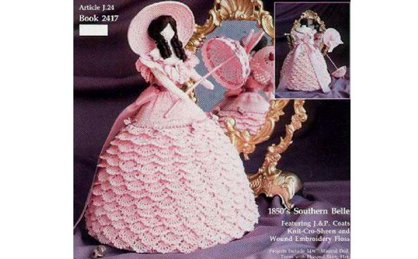 """Интерьерная кукла """"Леди Очарование"""". Схема"""