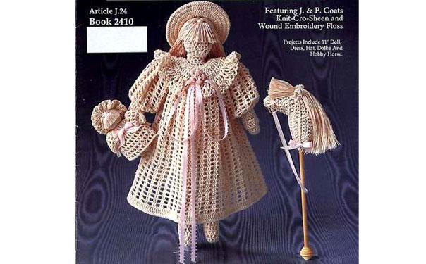 """Интерьерная кукла """"Викторианская девочка с игрушками"""". Схема"""