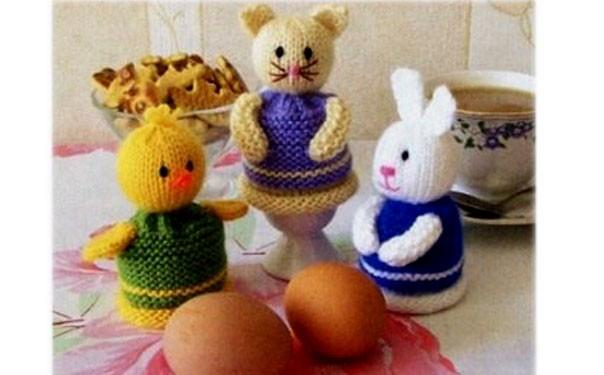 """К Пасхе: грелка для яиц """"Зайка"""""""