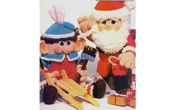 Elf and Santa. Эльф и Санта. Описание
