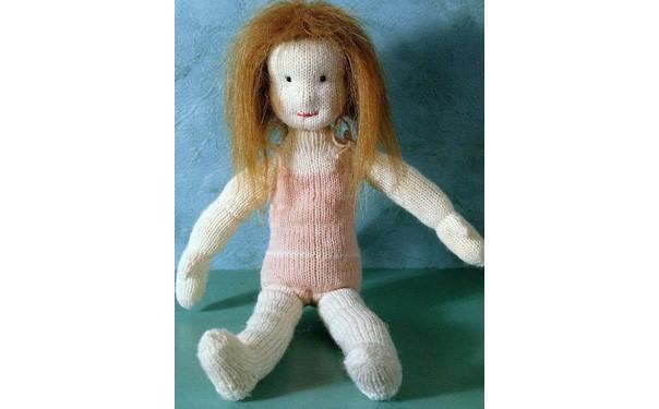 Вязаная кукла Лиза
