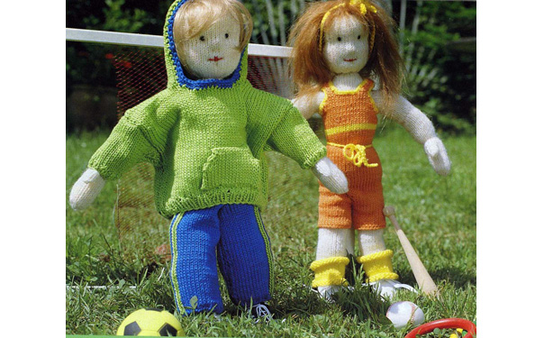 Спортивная одежда для Махса и Лизы