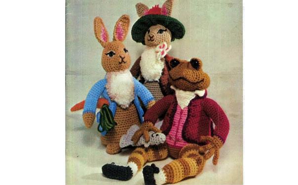 Вязаный кролик и его друзья