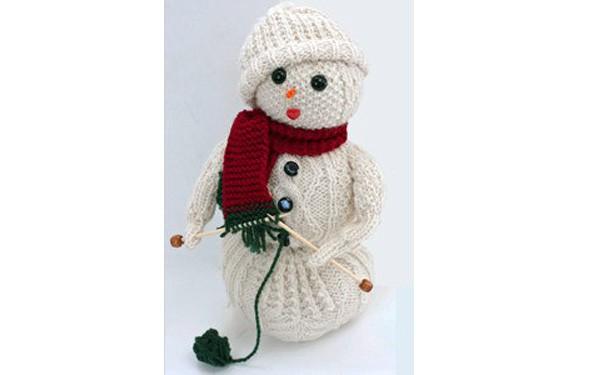 Снеговик. Frost Flower