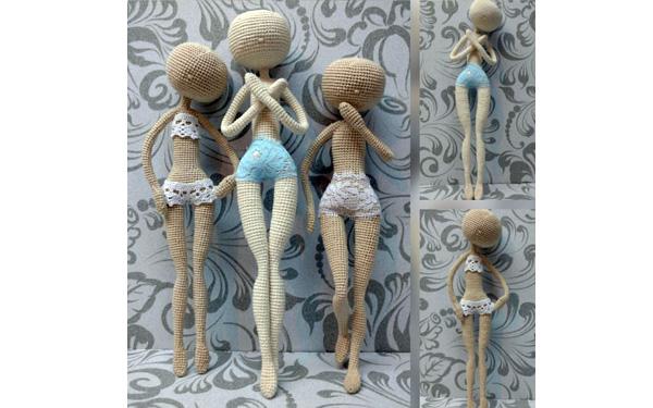 Как вязать основу куклы