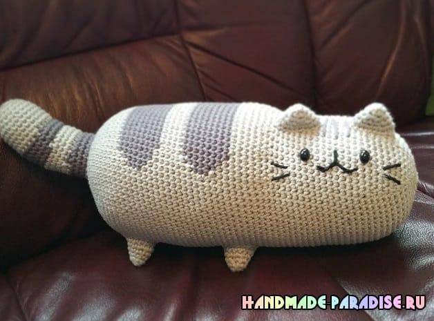 Игрушка-подушка. Кошка