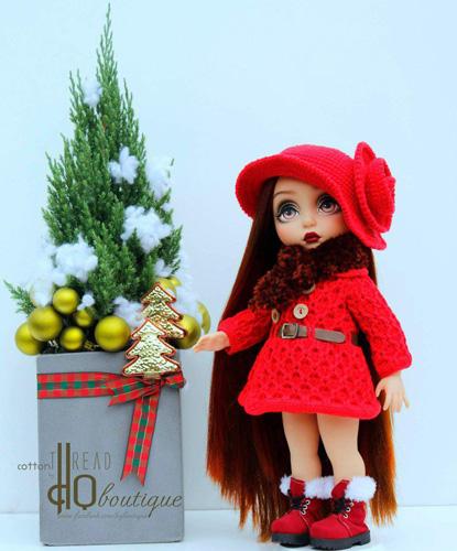 Очаровательная шляпа для куклы