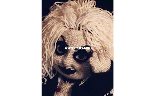 Вязаная Girl Bride of Chuckie. Схема