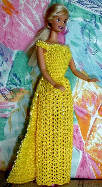 Элегантное платье для Барби
