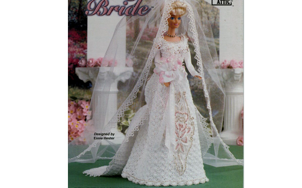 Свадебное платье для Барби. Схема