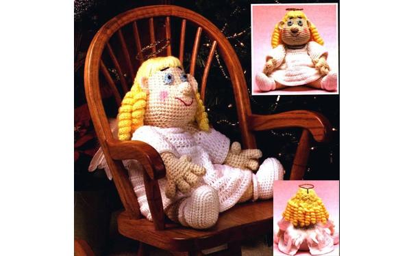 Вязаная крючком кукла Ангел. Схема