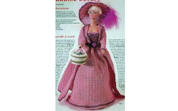 Вязаное платье. Мадам Бовари. Схема