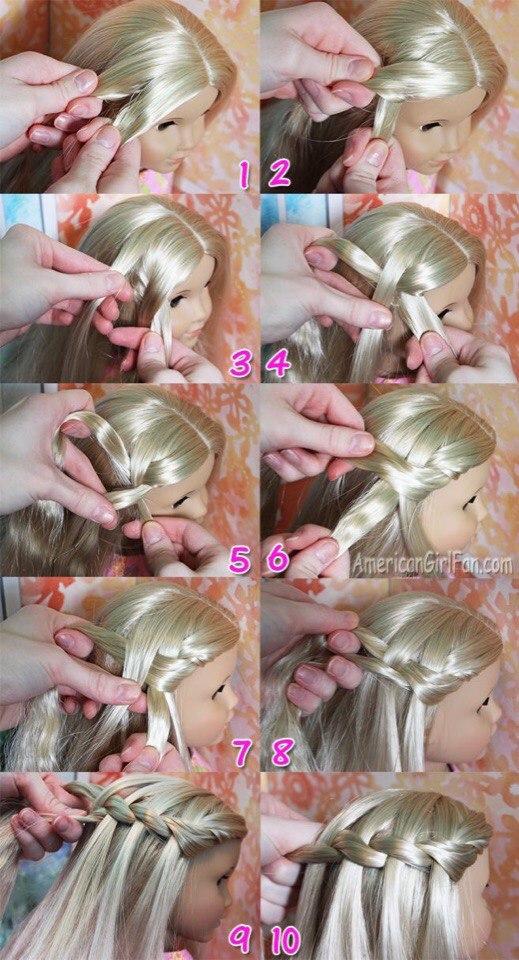 10 причесок для кукол