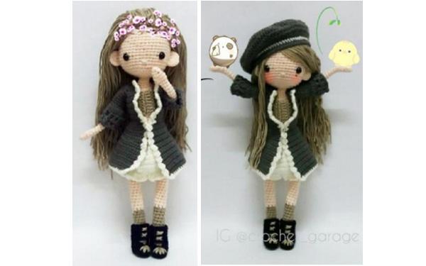 Вязаная кукла Амарилис. Схема