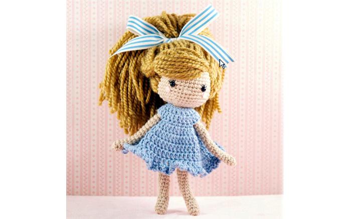 Вязаная крючком кукла ЭММИ-ЛУ. Схема